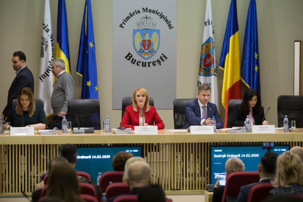 Primaria Capitalei, sedinta pe buget