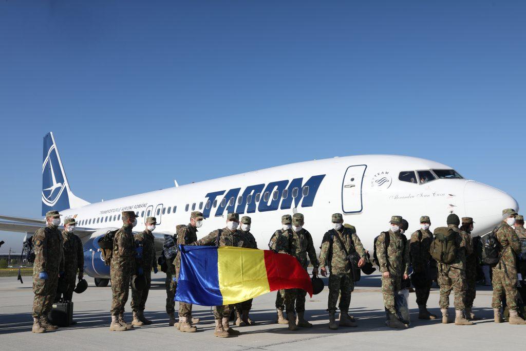 """Militarii care au asigurat cea de-a doua rotație a misiunii Detașamentului """"Carpathian Pumas"""" au plecat spre Mali în aprilie/ Sursa: MApN - foto Bogdan Pantilimon"""