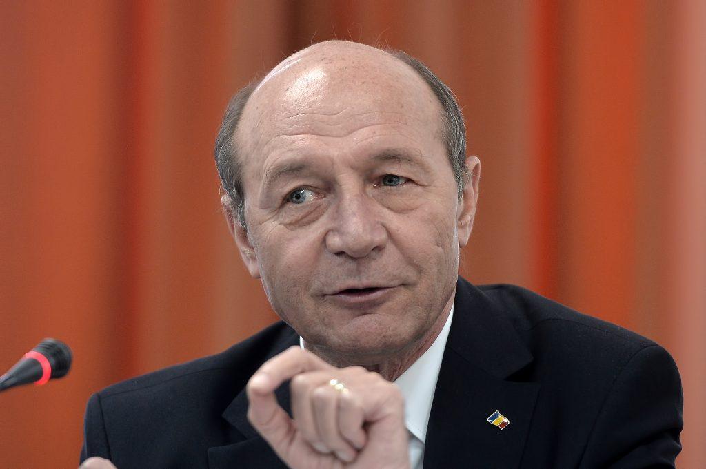 Traian Băsescu a comentat asupra proiectului de lege din Senat / Sursa: Mediafax Foto