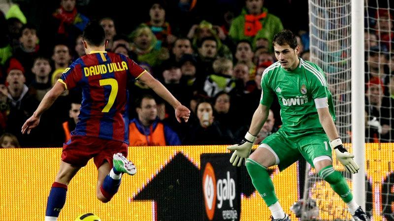 Portarul Iker Casillas, pe vremea când activa la Real Madrid