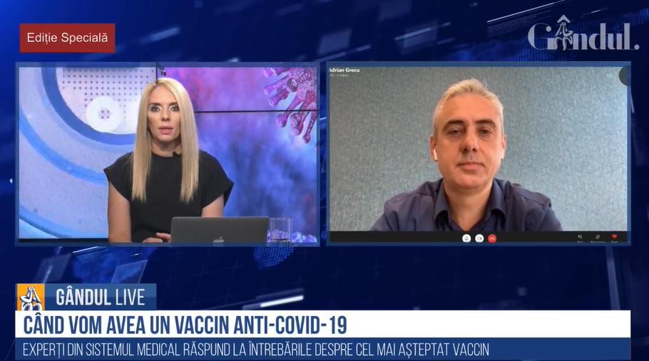 Adrian Grecu, CEO Mylan, intervenție la ediția specială Gândul Live