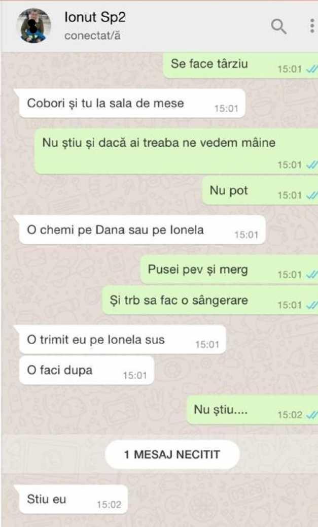 Acuzații grave la Spitalul Filantropia din Craiova: Sex în sala de tratament, furt de medicamente și pacienți lăsați de izbeliște. Sursa: Facebook