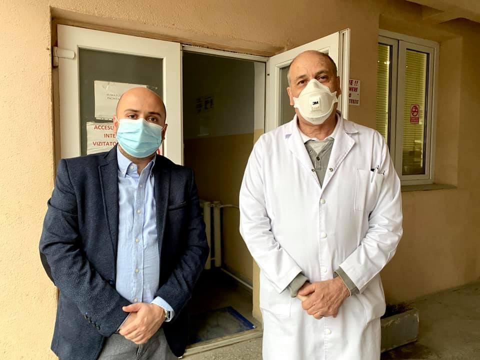 Pandemia de COVID-19. Prefectul de Timiş: Creșterea accelerată a numărului de persoane infectate pune presiune pe spitalele din Timișoara