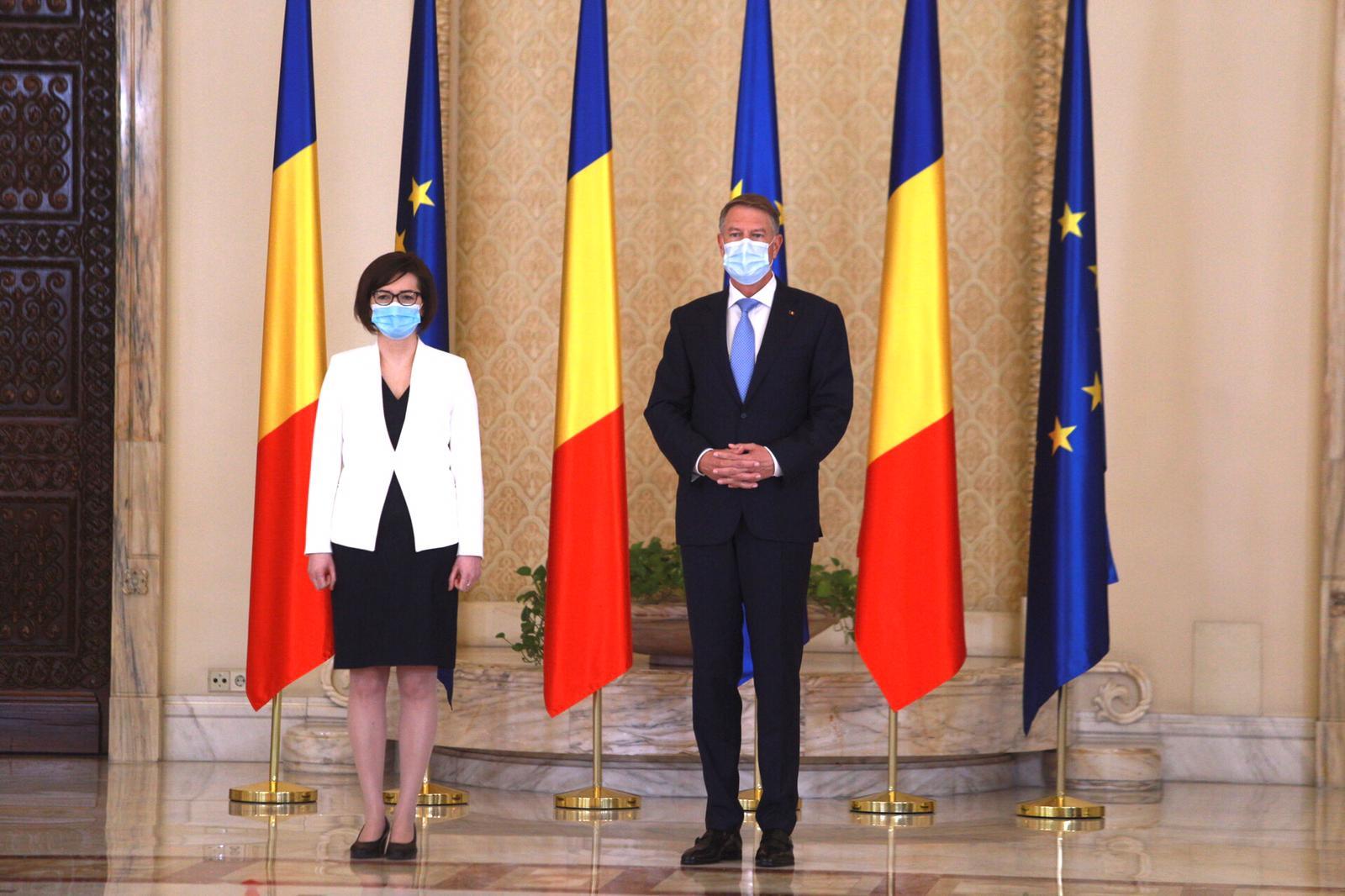 Klaus Iohannis, la depunerea jurâmântului noului ministru al Sănătății