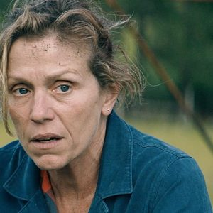 USA. Frances McDormand in the ©Fox Searchlight Pictures new film: Three Billboards Outside Ebbing, Missouri (2017).<br /> Plot: In this darkly comic drama, a mother personally challenges the local authorities to solve her daughter's murder, when they fail to catch the culprit.,Image: 350966244, License: Rights-managed, Restrictions: Supplied by Landmark Media. Editorial Only. Landmark Media is not the copyright owner of these Film or TV stills but provides a service only for recognised Media outlets., Model Release: no, Credit line: Profimedia