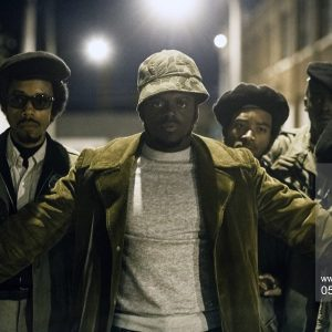 JUDAS AND THE BLACK MESSIAH, Darrell Britt-Gibson (left), Daniel Kaluuya (front), as Fred Hampton, Ashton Sanders (back right), as Jimmy Palmer, Dominique Thorne (right), 2021.,Image: 589726369, License: Rights-managed, Restrictions: Please credit ©Warner Bros/Courtesy Everett Collection, Model Release: no, Credit line: Profimedia