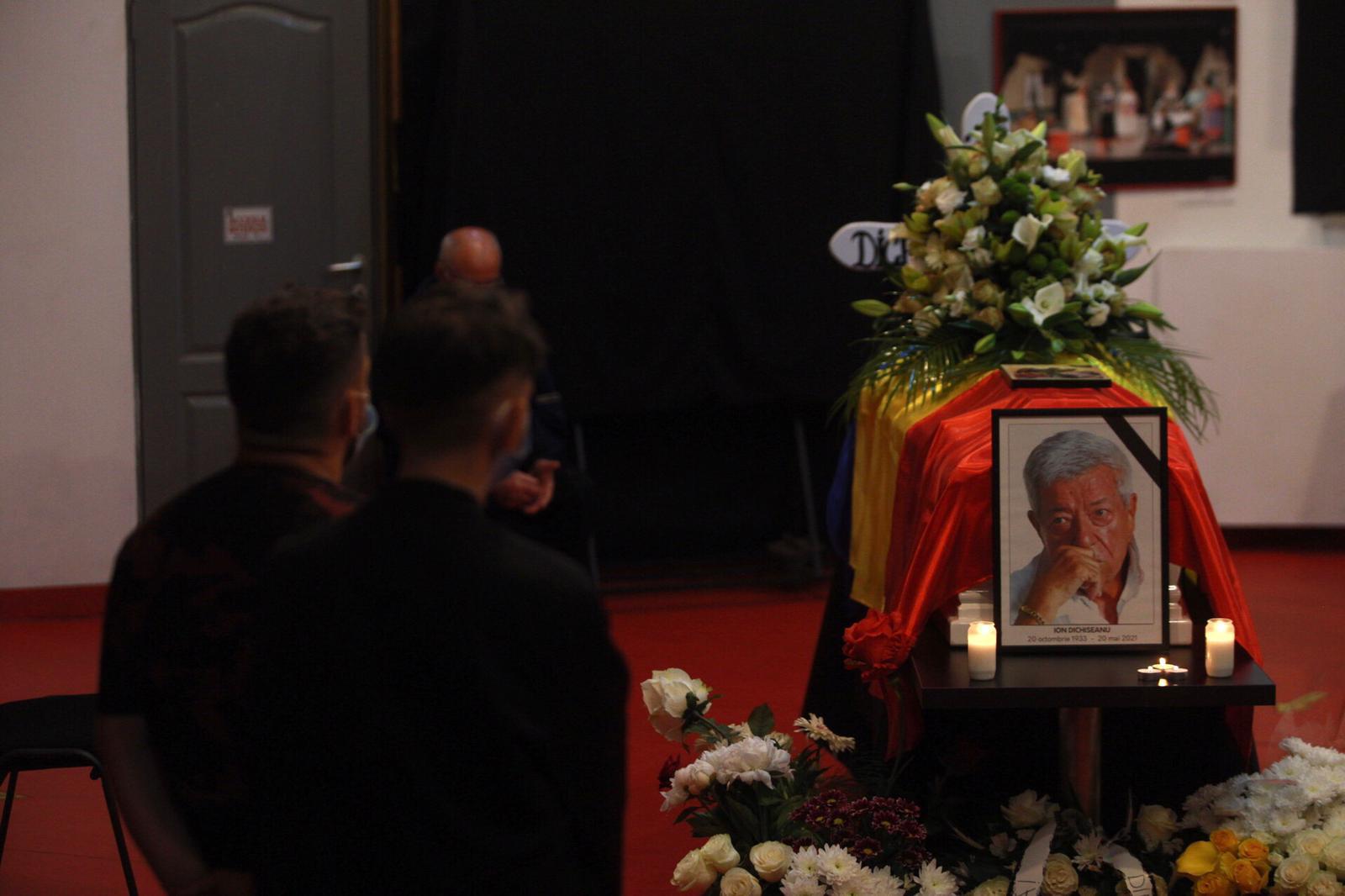 Un ultim omagiu pentru actorul Ion Dichiseanu, la Teatrul Nottara. Sursă foto: Alexandra Pandrea/GÂNDUL