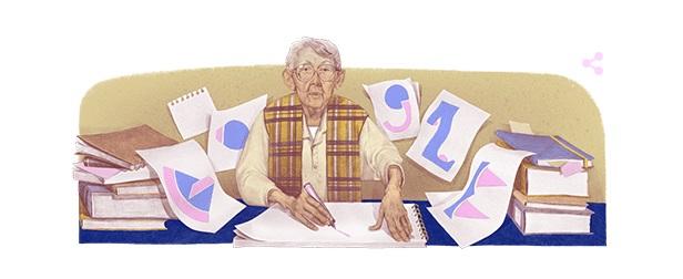 Geta Brătescu, omagiată de Google printr-un doodle. Se împlinesc 95 de ani de la nașterea artistei - FOTO