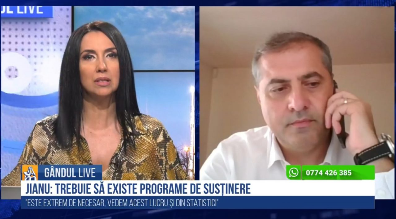 GÂNDUL LIVE. Florin Jianu, președintele CNIPMMR: Germania a precizat în PNRR că 30% din toate contractele vor merge către IMM-uri