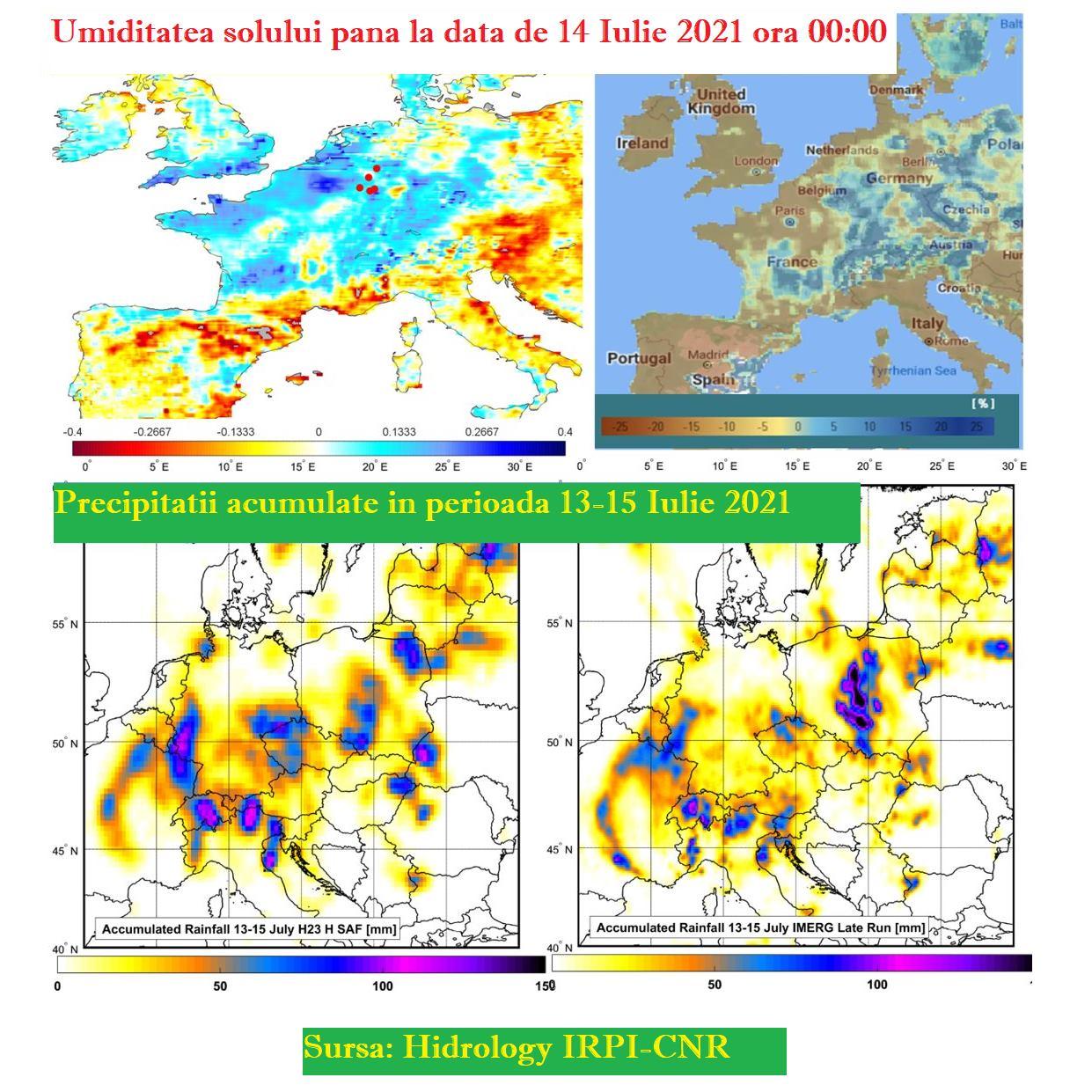 Sursa: Facebook Climatologie și Prognoze Globale