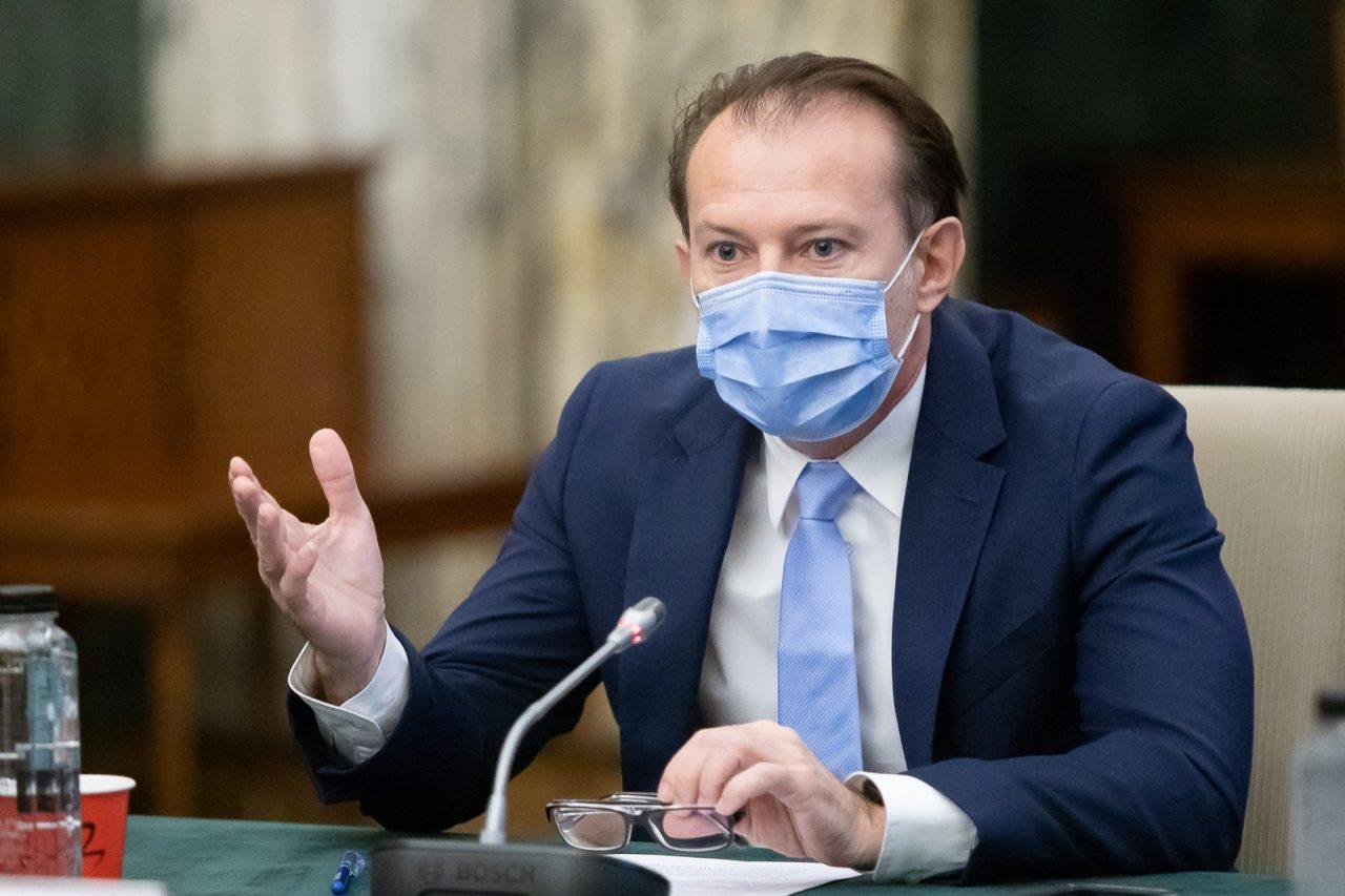 """Florin Cîţu nu este îngrijorat că USR PLUS ar putea bloca noile propuneri de miniștri: """"Chiar dacă nu votează, Guvernul merge mai departe"""""""