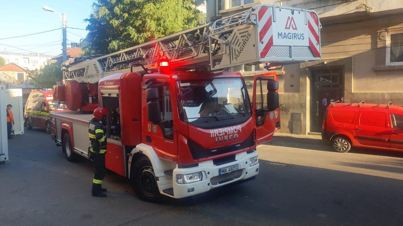 Autoritățile au desfășurat un exercițiu de intervenție în caz de incendiu la Spitalul MAI