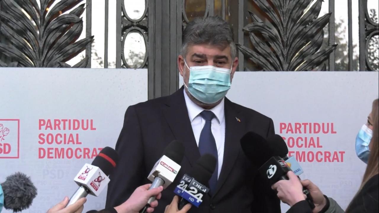 Marcel Ciolacu anunţă că se întâlnește cu premierul desemnat, Nicolae Ciucă, pe care îl cheamă la sediul PSD